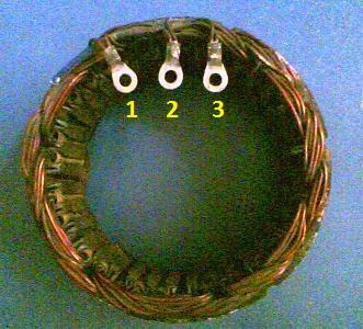 Статор генератора ВАЗ 2109 2114