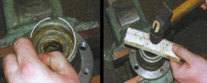 кольцо разделяющее подшипники ваз 2107 ступица